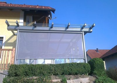 Terrassenüberdachung 2014-2